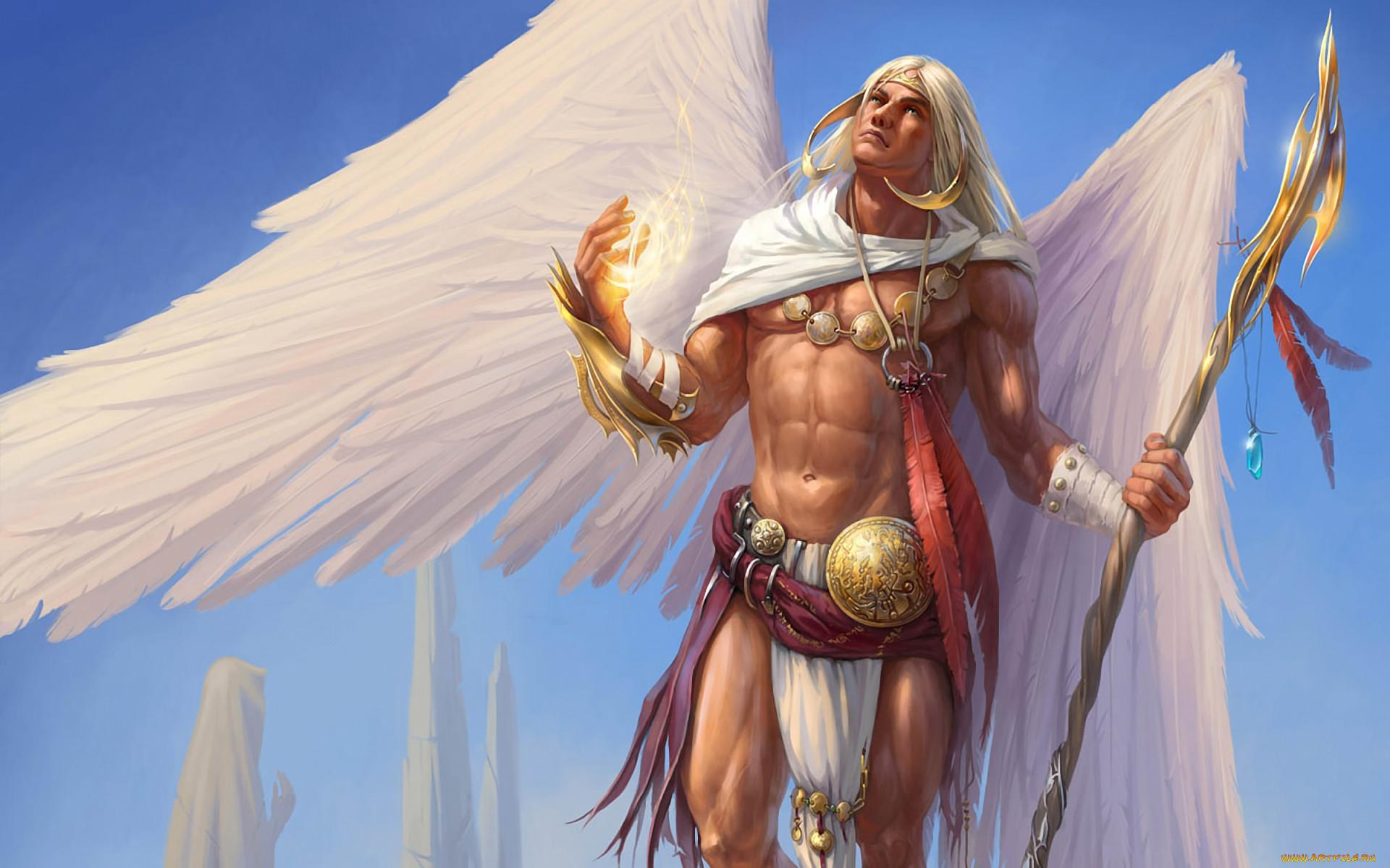 иванович заявил, картинка фэнтези ангел мужчина ногтях